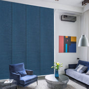 Sliding Patio door panel- curtain blinds