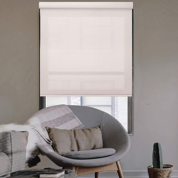 Free Stop Cordless Roller Shade | Roller Shade | Champagne - GoDear shop