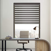 cordless zebra shades-iron-gray