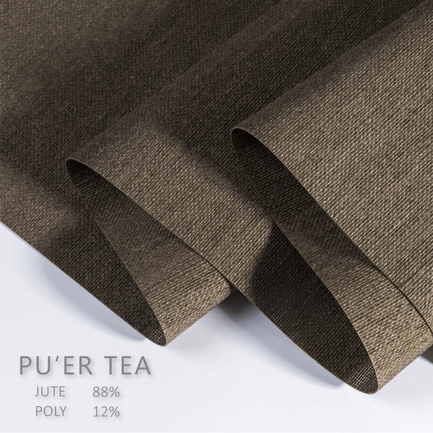 bark brown panel fabric