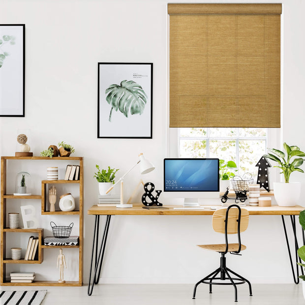 Free Stop Cordless Roller Shade | Roller Shade | Sand - GoDear shop