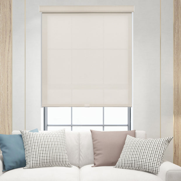 freestop cordless roller shade cream