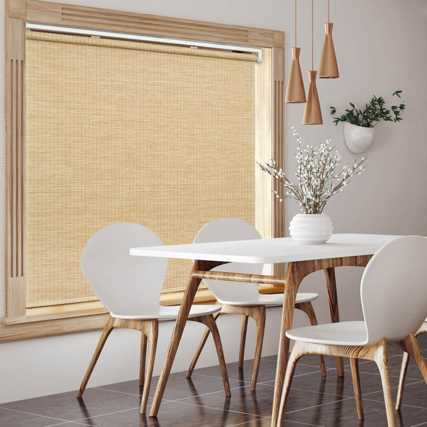 brown freestop cordless roller shade