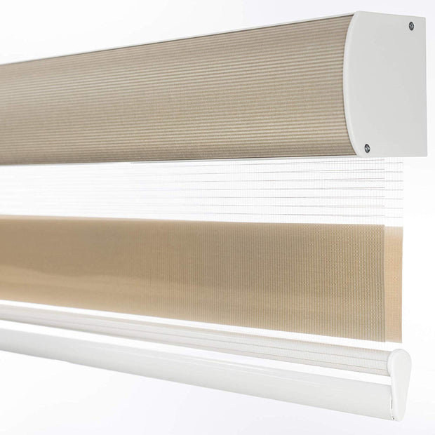 Cordless freestop roller shade