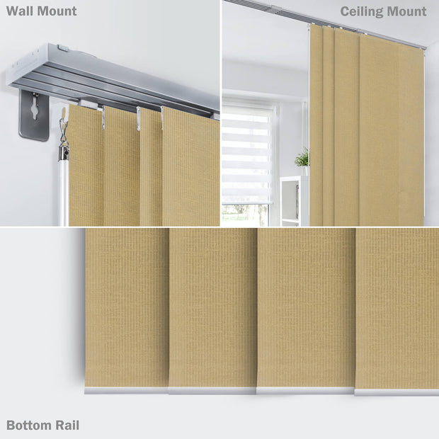brown room divider