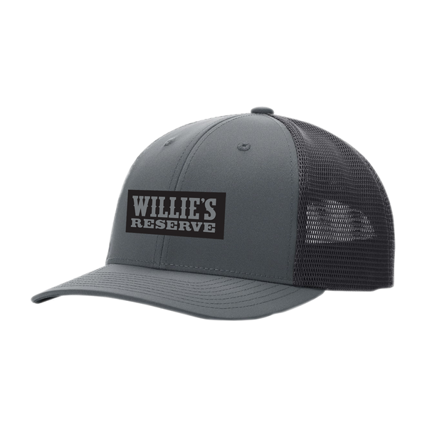 Willie's Reserve - Denim and mesh embroidered logo hat