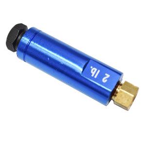 "3/8"" FITTINGS RESIDUAL CHECK VALVE BLUE - 2 lbs. (DISC BRAKES)"
