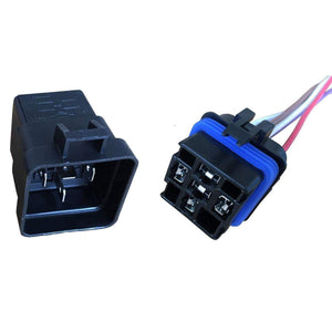 5-PIN 40 AMP RELAY WITH WATERPROOF PIGTAIL 12""