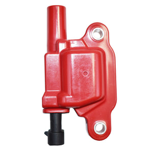 GM LS HIGH PERFORMANCE IGNITION COILS CAR RED