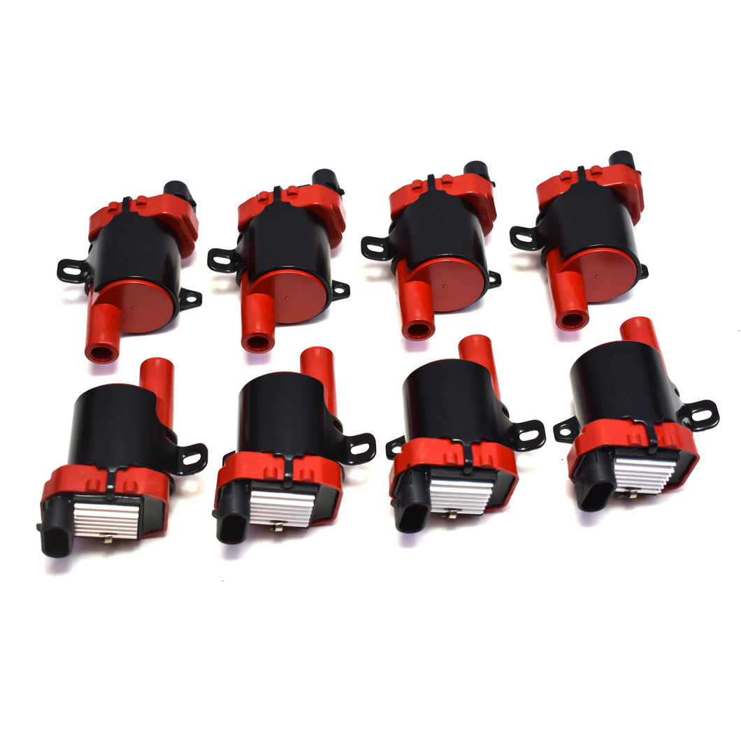 GM LS HIGH PERFORMANCE IGNITION COILS TRUCK RED