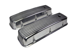 GM BB 396/402/427/454 DIE-CAST FINNED ALUMINUM VALVE COVERS