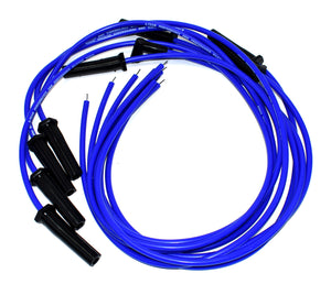 UNIVERSAL V8 V6 & COIL WIRE BLUE 8.0mm