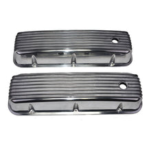 Load image into Gallery viewer, GM BB 396/402/427/454 DIE-CAST FINNED ALUMINUM VALVE COVERS