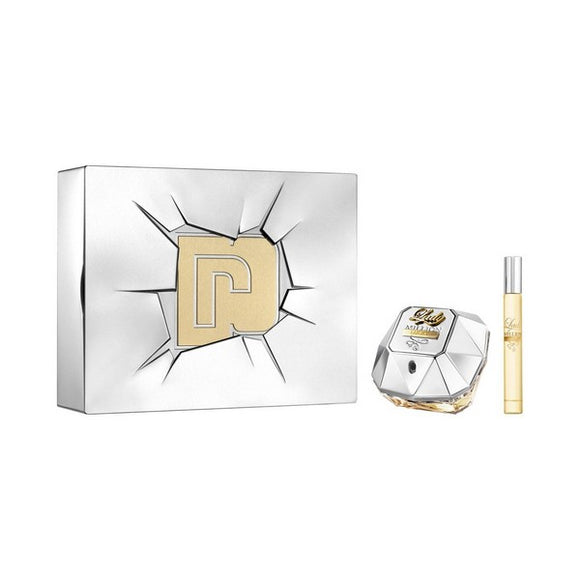 Cofanetto Profumo Donna Lady Million Lucky Paco Rabanne (2 pcs)