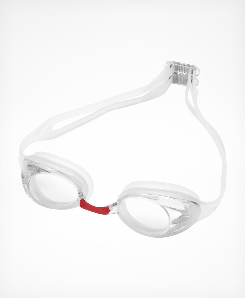 Varga Race Goggle - White with Clear lense