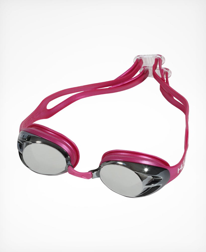 Varga Race Goggle - Pink with Silver Mirror