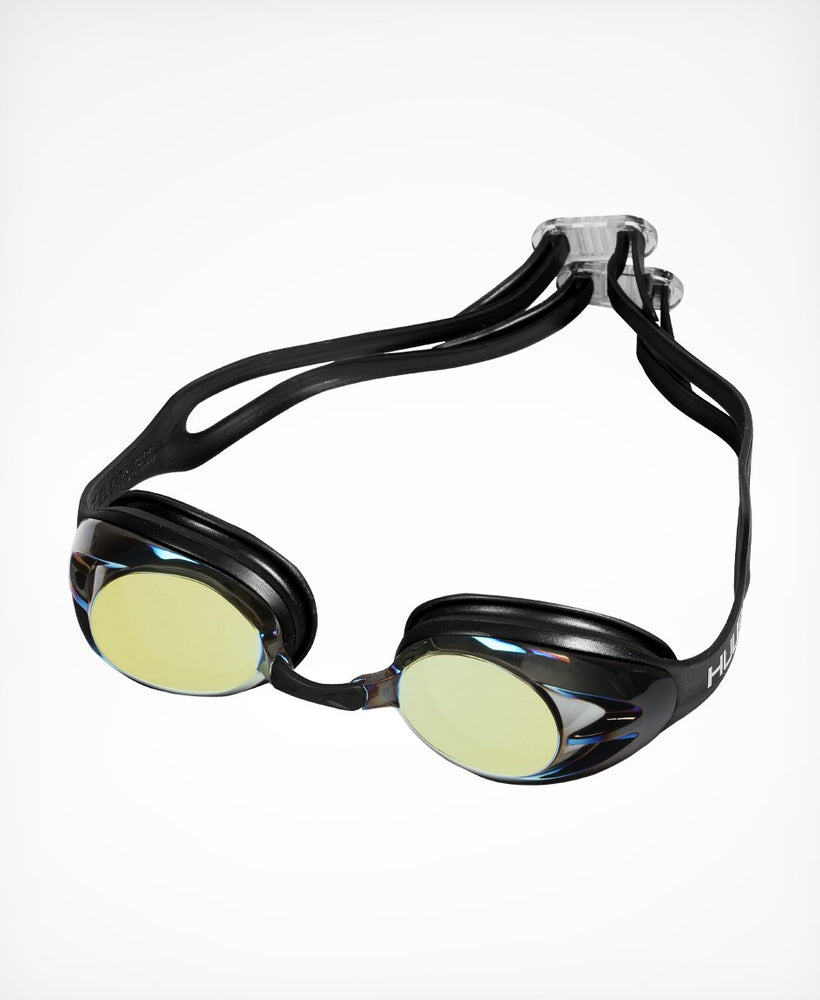 Varga Race Goggle - Black with Gold Mirror