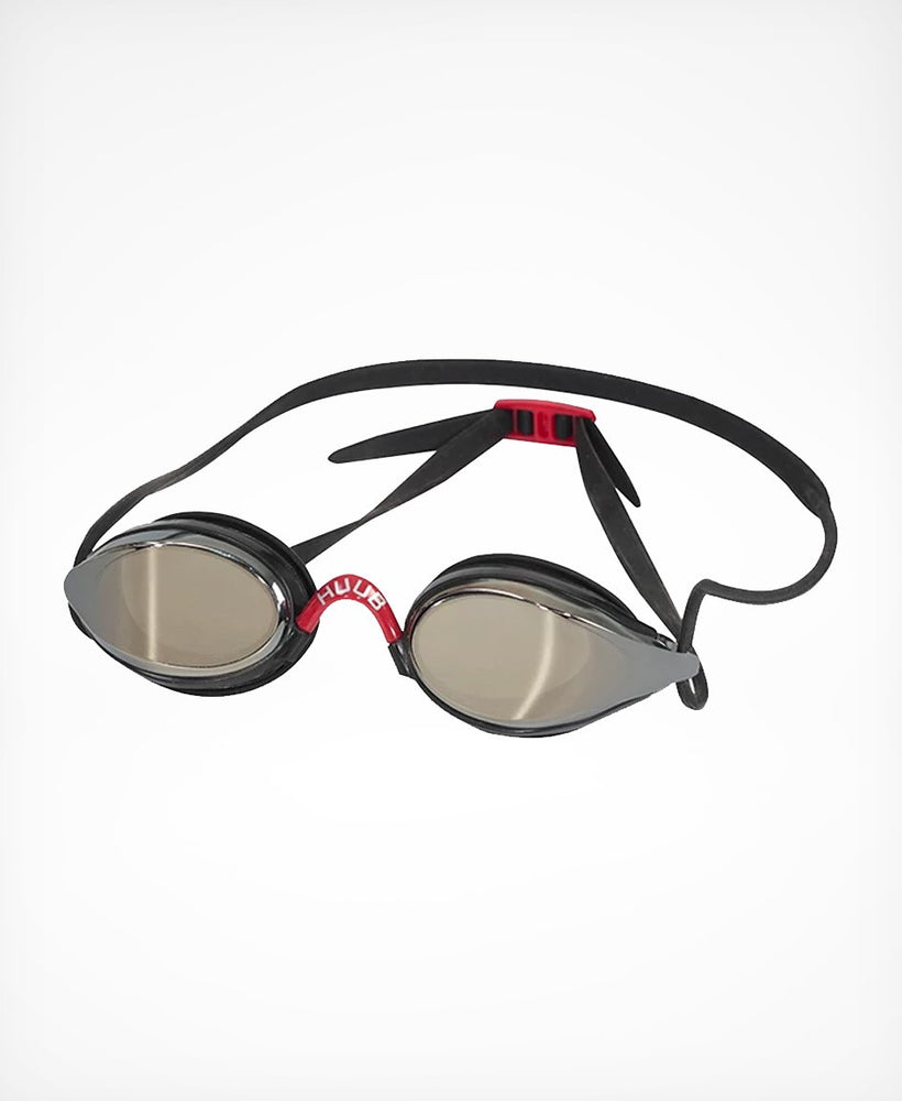 Brownlee Swim Goggle - Black with Dark Smoke Mirror Lens