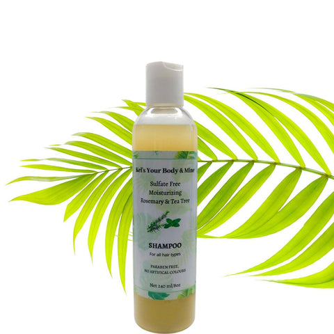 Rosemary and Tea Tree Shampoo - Kel's Your Body & Mine