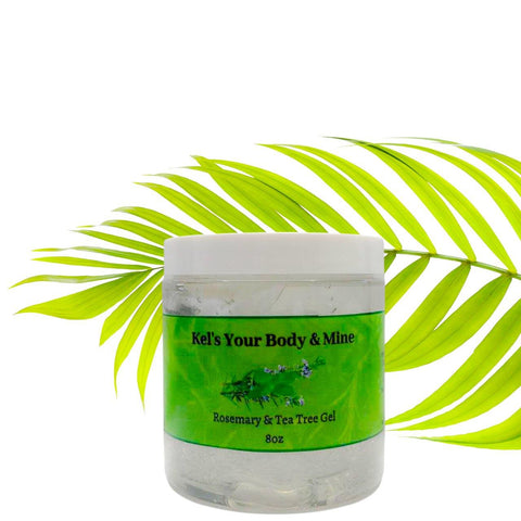 Rosemary and Tea Tree Gel - Kel's Your Body & Mine