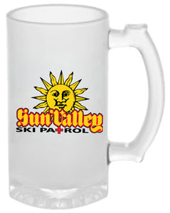 Haulin' The fallin'   16oz Frosted Glass Beer Mug