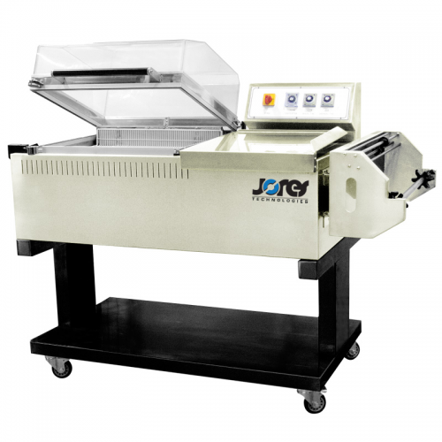 Chamber Shrink Wrapping System with Film Dispenser and Sealer - 22 x 20 - (Model FM-5540) by JORESTECH®