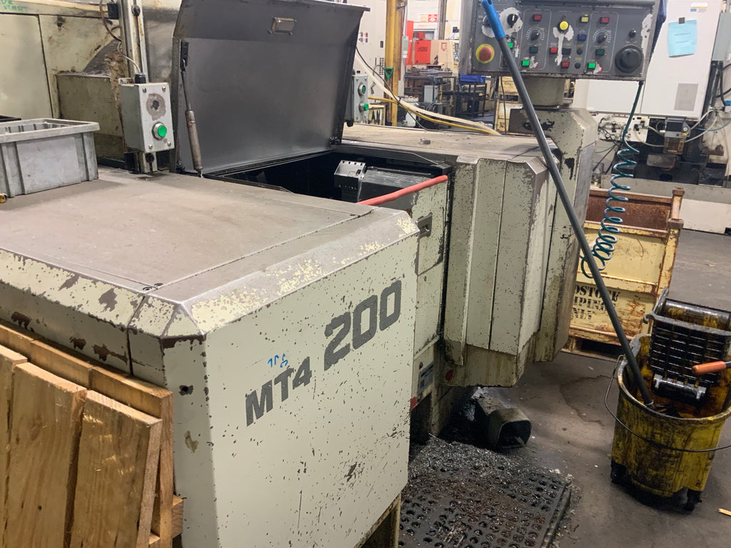 Used Kitako MT4-200 -4-Spindle Turning Center(1998)
