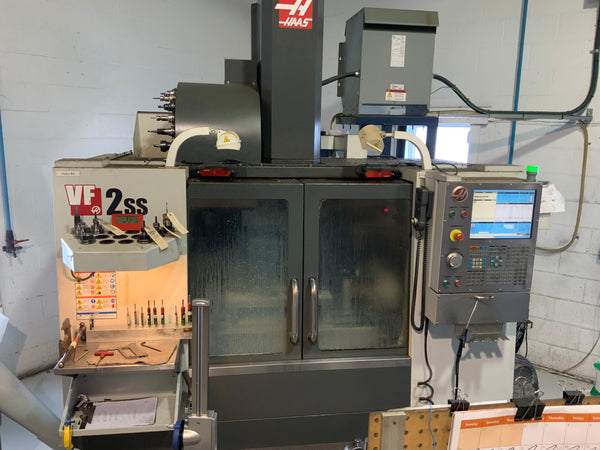 Used Haas VF2SS (2012)