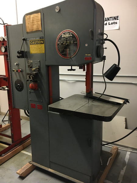 Used DoAll 2013 20 Vertical Band Saw
