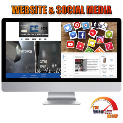 Simple Website & Social Media