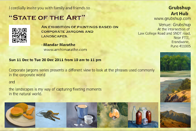 State Of The Art - Exhibition Of Paintings By Mandar Marathe