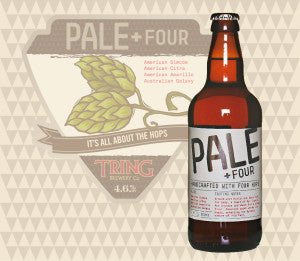 Tring Brewery - Pale Four (6 pack) - 4.6% ABV