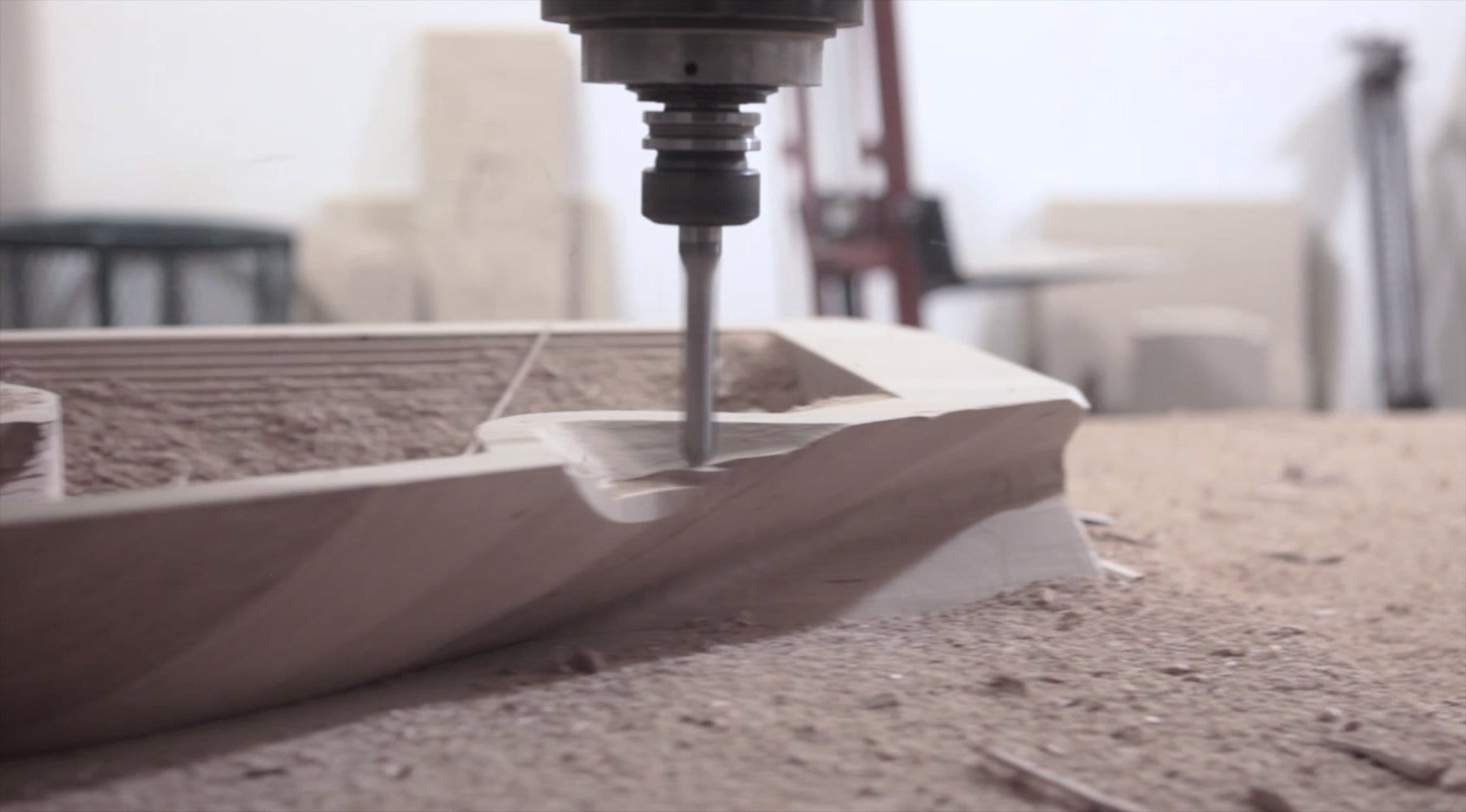 CNC Stories: Carving a sculpture section