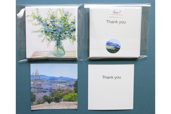 Thank you Note Card Collection