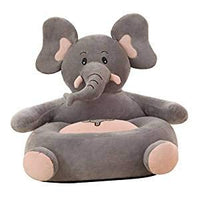 Misslight Animal Sweet Seats | Baby Bunny Children's Plush Chair Rabbit Stuffed Toys Cartoon Cushion for Protector Cushion Keep Sitting Posture Sitting Sofa (Elephant)