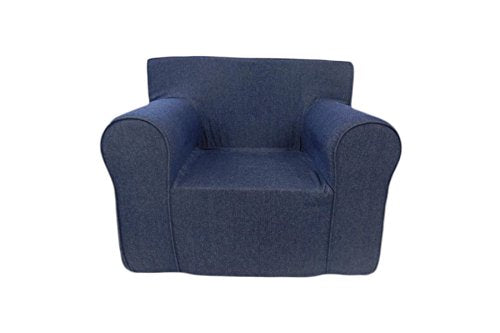 Fun Furnishings Ultimate Kid's Chair, Navy Blue