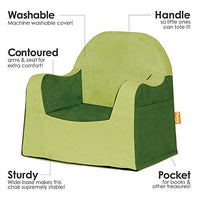 P'kolino PKFFLRAGR Little Reader Chair - Green