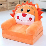 Children's Sofa Backrest Chair Stuffed Plush Toy Kids Toys Baby Learning Chair Infant Foldable Seat Feeding Chair for Teens/Toddlers/Baby