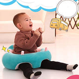 Moligh doll 45x45Cm Baby Seat Baby Learning to Sit Cute Animal Shaped Design Chair Baby Support Seat Soft Sofa Plush Toys Dropshipping #H
