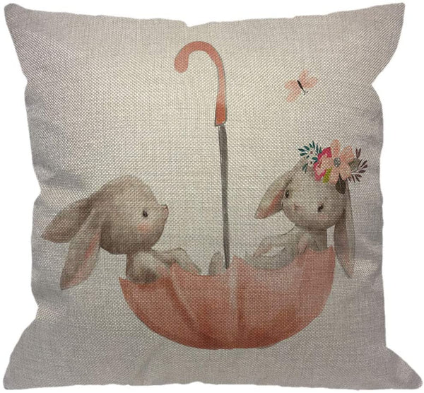 HGOD DESIGNS Throw Pillow Case Vintage Burlap Poultry Feed Sack Cotton Linen Square Cushion Cover Standard Pillowcase for Men Women Home Decorative Sofa Armchair Bedroom Livingroom 18 x 18 inch