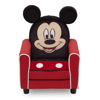 Delta Children Figural Upholstered Kids Chair, Disney Mickey Mouse