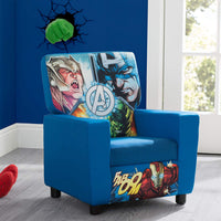 Delta Children High Back Upholstered Chair, Marvel Avengers