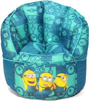 Universal Minions Toddler Bean Bag Chair, Teal