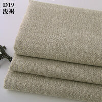 Burlap fabric pillow sofa fabric 1M