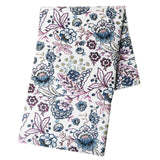 Printed Cotton Linen Fabric Flower Series Burlap For DIY Quilting&Sewing Sofa Table Cloth Curtain Bag Cushion Material 50X150cm
