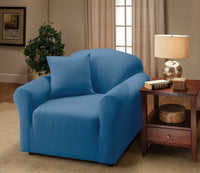 """A GREAT BUY""--JERSEY COVERS FOR COUCH LOVESEAT CHAIR RECLINER MANY COLORS AVAIL"