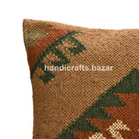 2 Pcs Handmade Decorative Home Sofa Outdoor Pillow Throw Killim Cushion Cover 18