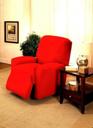 """DON'T PASS UP"" RED COVERS FOR RECLINERS SOFAS COUCHES LOVESEATS & CHAIRS XX"