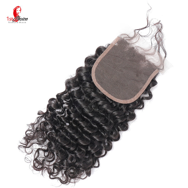 "4"" x 4"" Lace Closure Deep Curly"