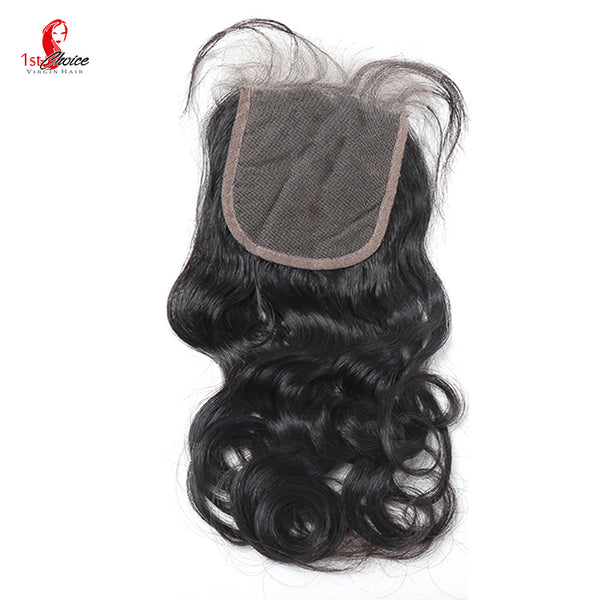 "4"" x 4"" Lace Closure Natural Wave"